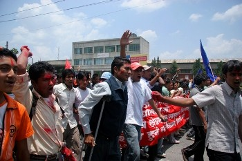 "If the Nepali Maoist leaders do not turn back from this ""Prachanda Path"", they will inevitably put in jeopardy the future of the Nepali revolution. Photo by red dart eskimo spy on Flickr."