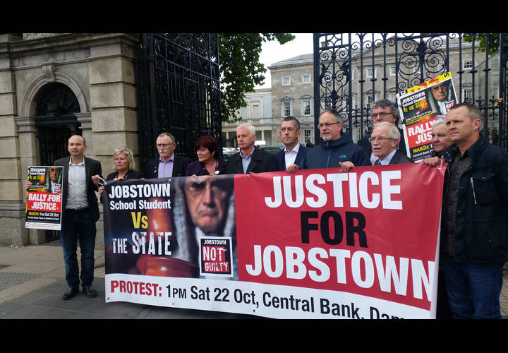 TDs and Senators support #JobstownNotGuilty