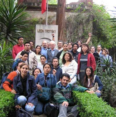 Commemoration meeting of Ted Grant in Mexico