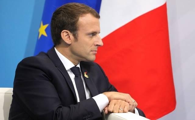 Emmanuel Macron Foto Kremlin ru