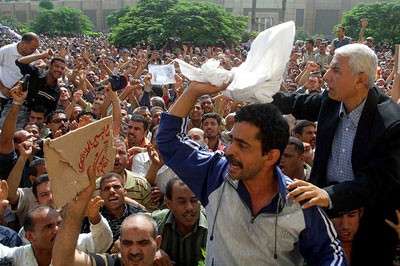 Egypt: The victory of Mahalla workers exposes the weakness of Mubarak's regime