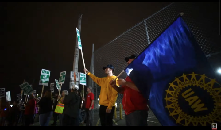UAW Strike GM 2019 3 Image Image fair use