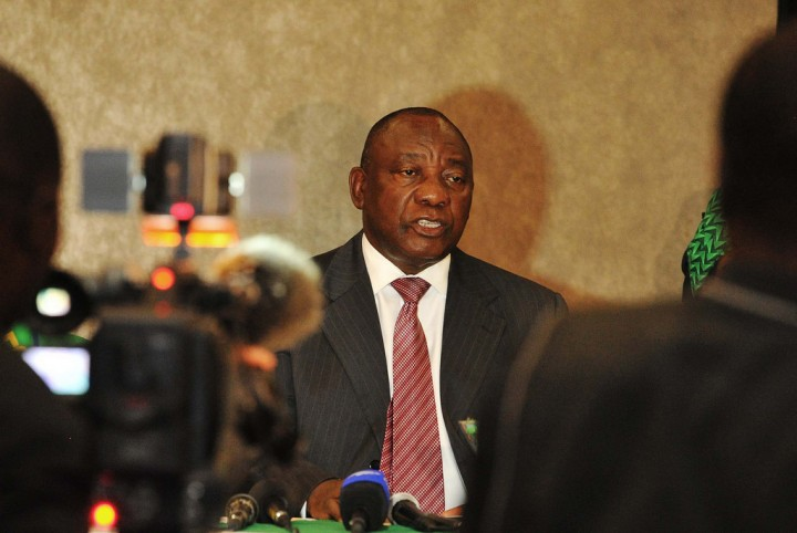 Cyril Ramaphosa Image Flickr GovernmentZA