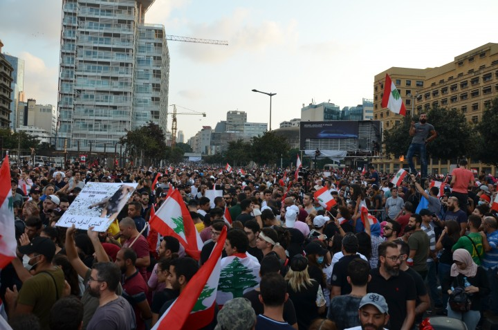 Leb protests 20 Oct 8