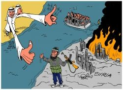 latuff-refugees-welcome