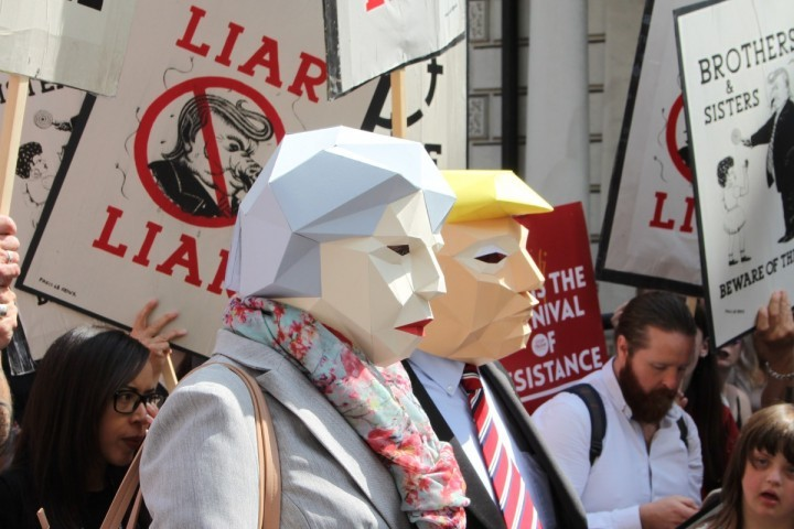 Trump demo London 2 Image Socialist Appeal