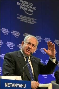 The early lead in the opinion polls of Netanyahu's Likud was cut across by the attack on Gaza. Photo by World Economic Forum.