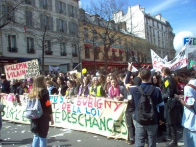 April 4: an even bigger mobilisation of French workers and youth