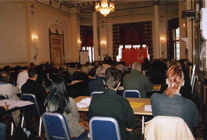 Socialist Appeal 2006 Conference displays confidence for future