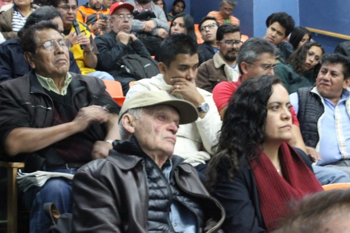 Esteban Volkov the grandson of Leon Trotsky was in attendance Image La Izquierda Socialista