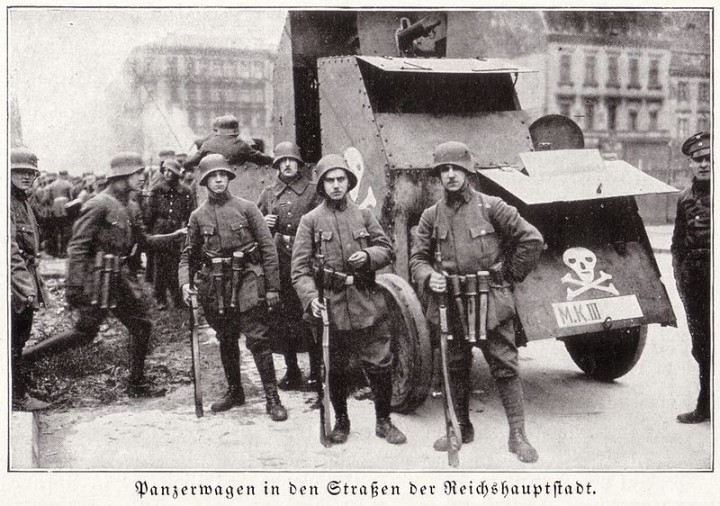 Freikorps in Berlin 1919 Image public domain