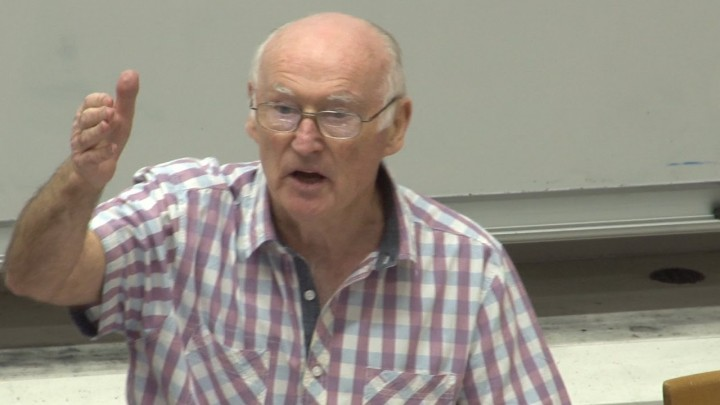 Peter Taaffe in 2006 Image public domain