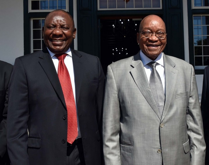 Zuma Ramaphosa Government of South Africa