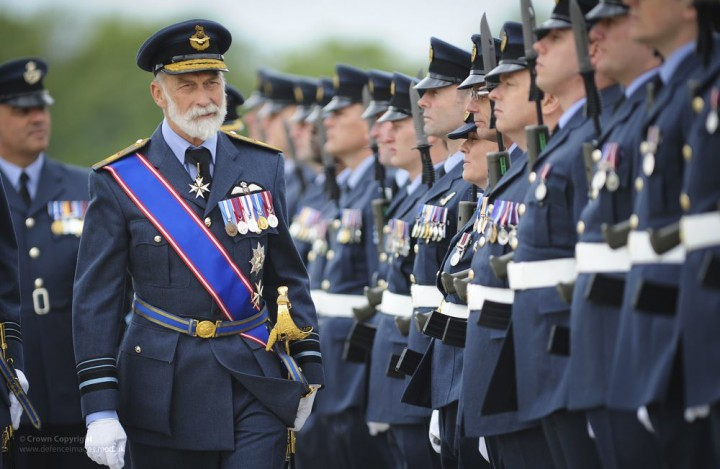 British officers Image Flickr RAF
