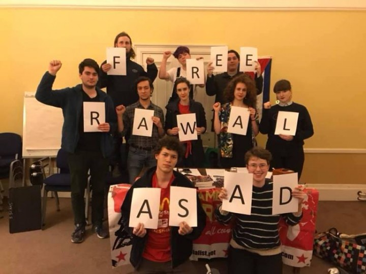 Free Rawal Cambridge Image Socialist Appeal