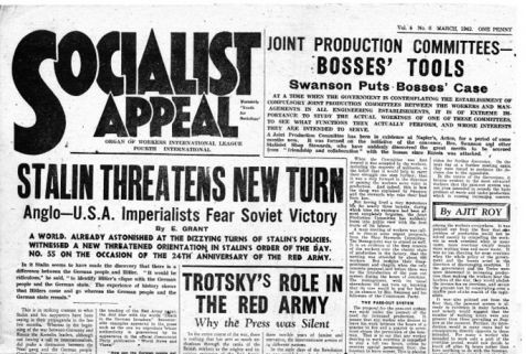 Socialist Appeal, March 1942