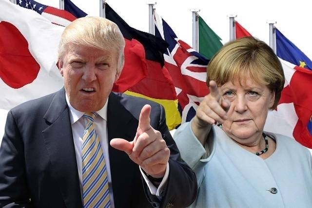 Trump and Merkel Image Socialist Appeal
