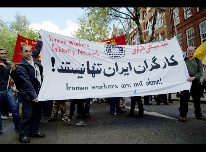 IWSN on May Day in London