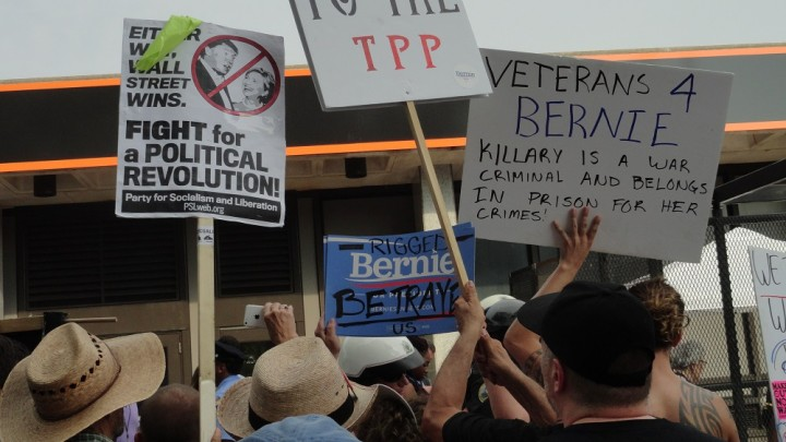 dnc protest - Socialist Appeal US