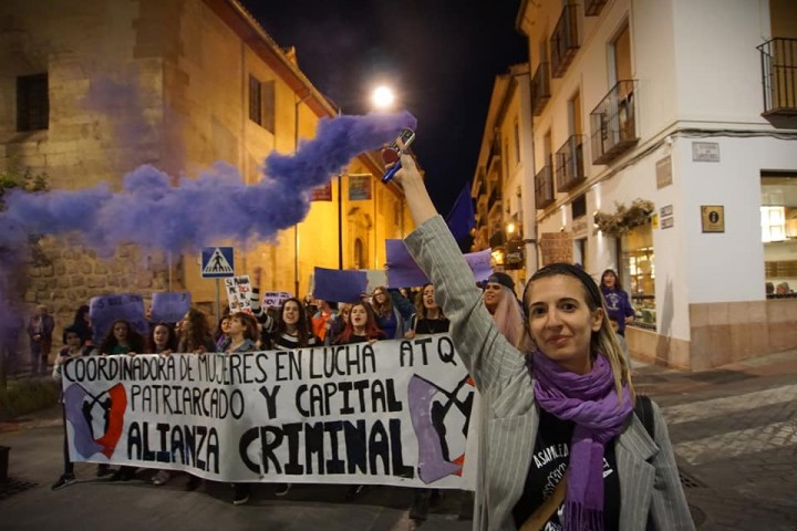 2019 womens march Image Manifestación de Antequera