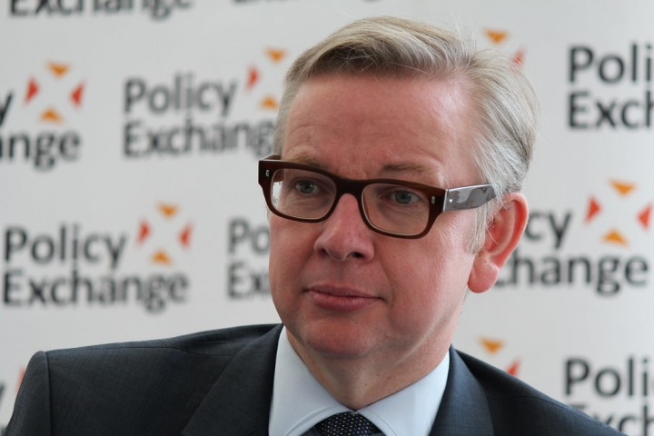 Michael Gove Image Flickr Policy Exchange Follow