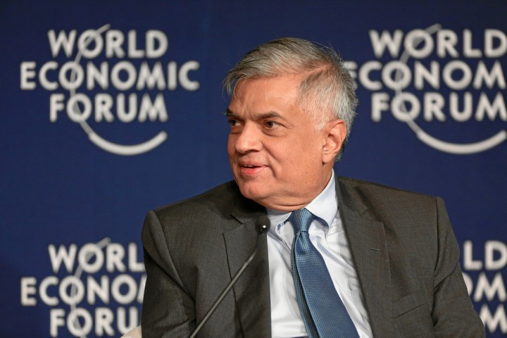 Wickremesinghe Image WEF