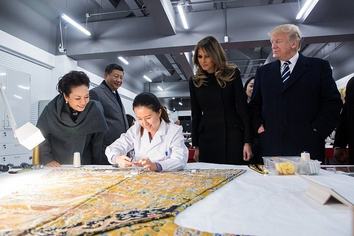 Trump in China Image The White House