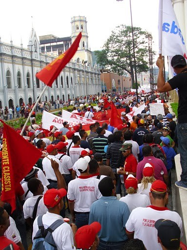 Workers' march organised by UNT