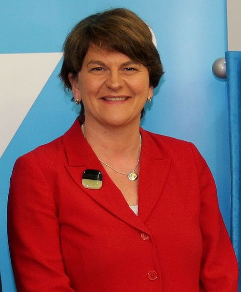 Arlene Foster leader of the DUP Image Northern Ireland Office