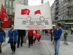 Vienna SPO Youth march
