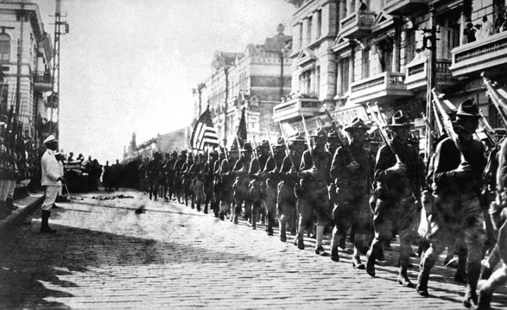 American troops in Vladivostok 1918 Image public domain