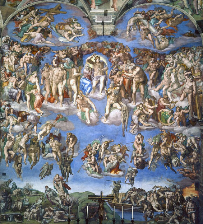 Last Judgement Michelangelo Image public domain