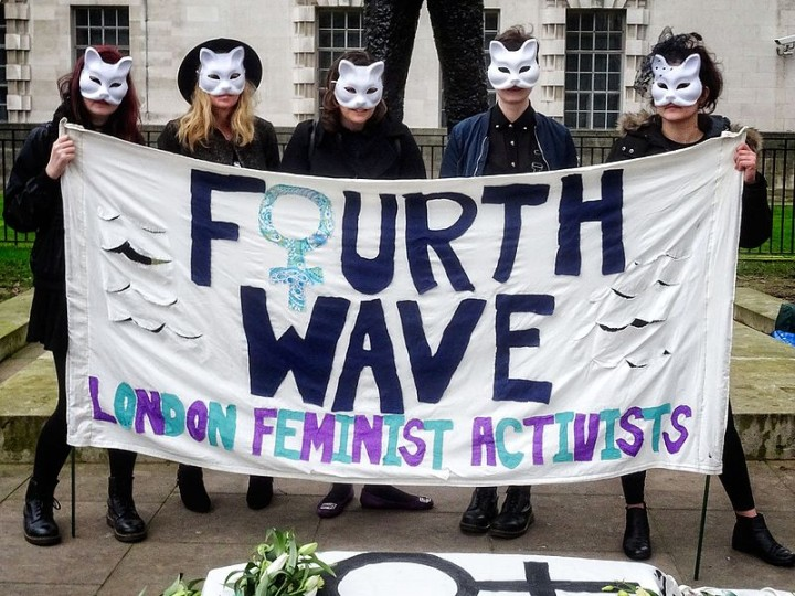 London fourth wave feminism Image Garry Knight