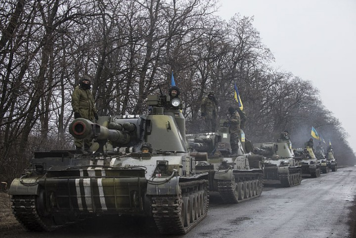 Tanks in Eastern Ukraine Image public domain