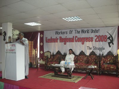 Congress of Marxists in Kashmir