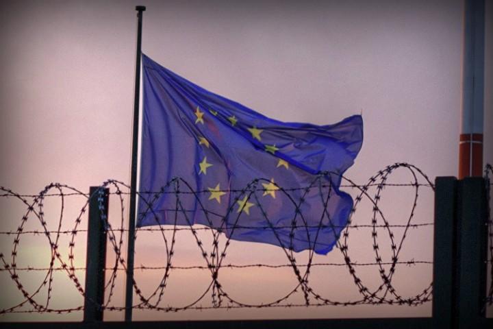 eu schengen visa border large Image domaine public