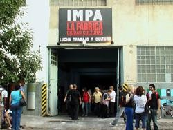 Argentina: International solidarity appeal – Stop the eviction of IMPA – a factory under workers' control