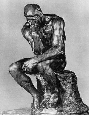 'The Thinker' by Rodin