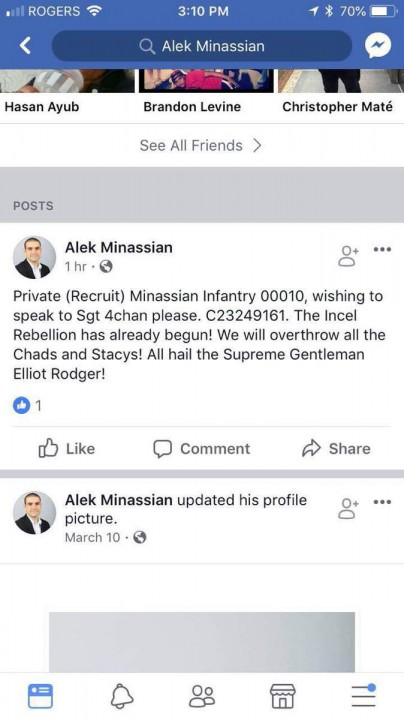 Alek Minassian Fair Use