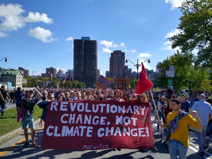 Montreal 27 Climate Strike 3