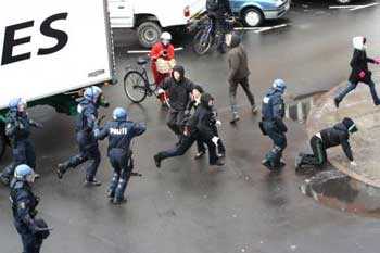 Police repression against pro-Youth House protesters on March 1