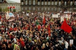 Denmark: Biggest demonstrations in 20 years - against the so-called reforms of the government