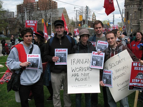 IWSN on May Day in Toronto