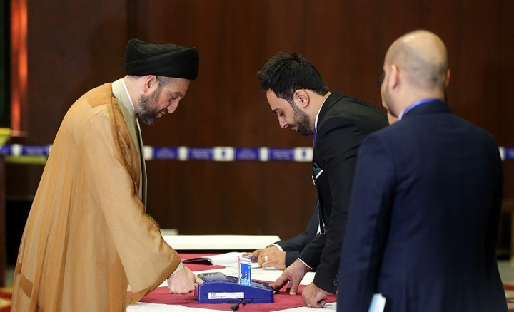 Ammar al Hakim in Iraqi parliamentary election 2018 12