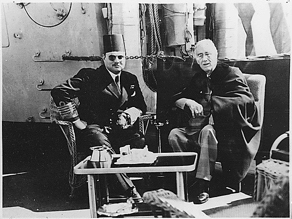 King Farouk and Franklin D. Roosevelt