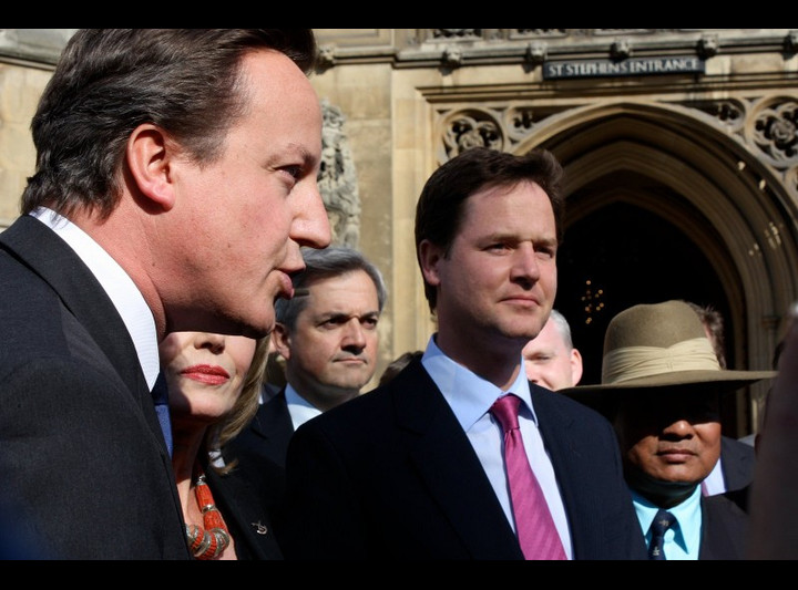 David Cameron and Nick Clegg. Photo by Office of Nick Clegg.