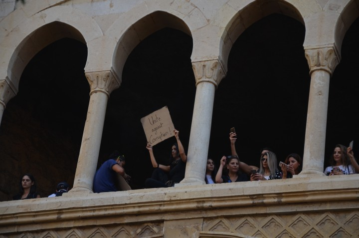 Leb protests 20 Oct 12