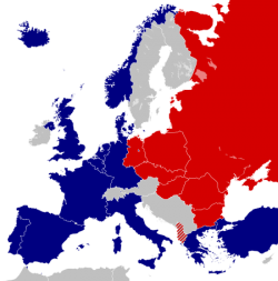 NATO and the Warsaw Pact 1973 - Alphathon CC BY-SA 3.0