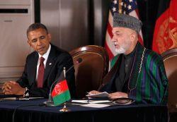 Obama and Karzai in 2012. Photo: US Embassy Kabul