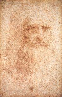 Autorretrato (1512), Leonardo da Vinci